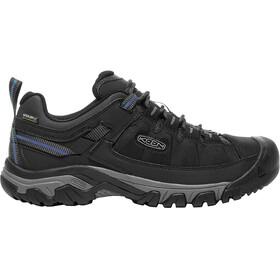 Keen M's Targhee Exp Waterproof Low Shoes Black/Steel Grey